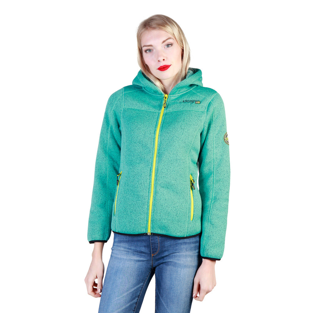 Geographical Norway Torche_woman_lagoon Sweatshirts - Les Bleu Saphire