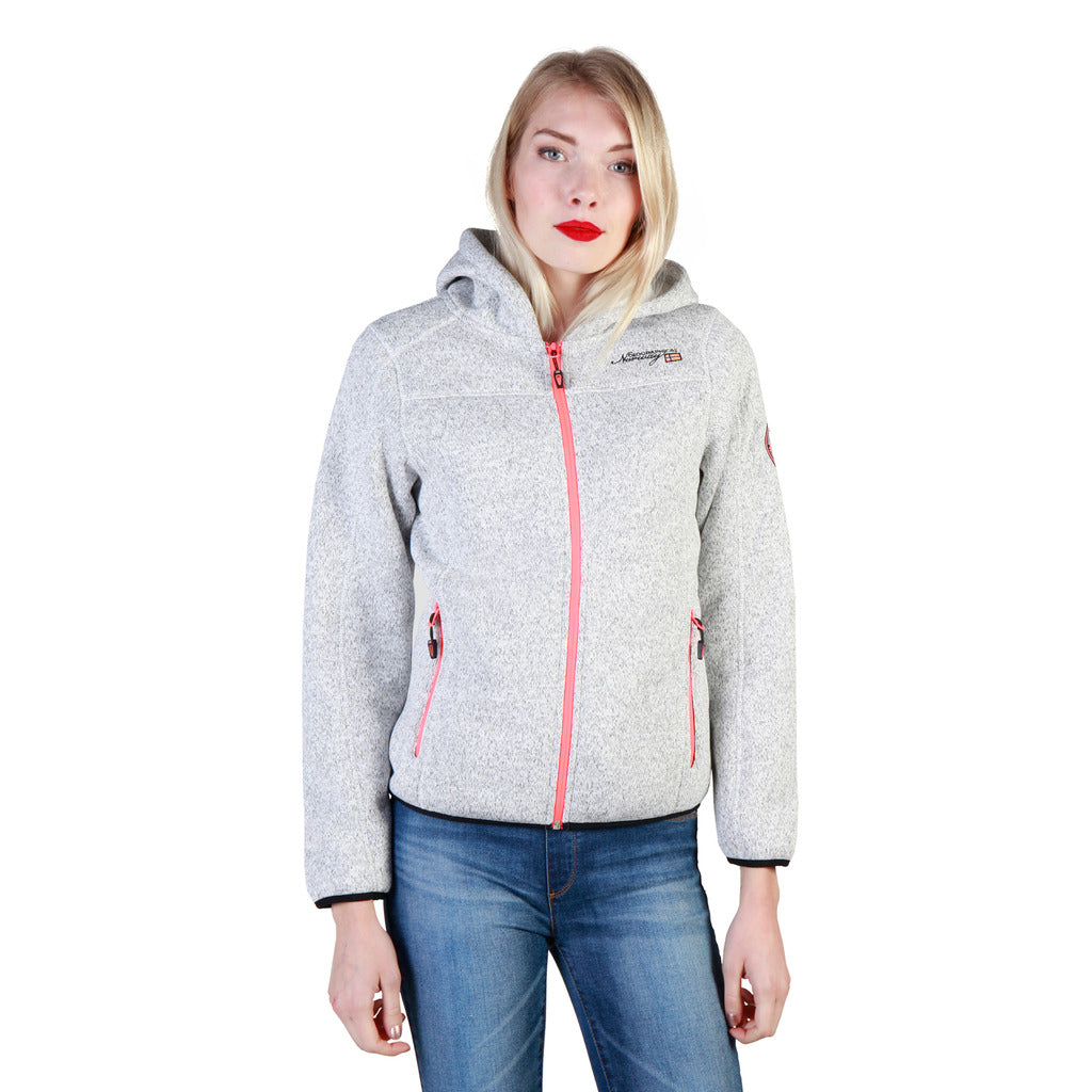 Geographical Norway Torche_woman_blendedgrey Sweatshirts - Les Bleu Saphire