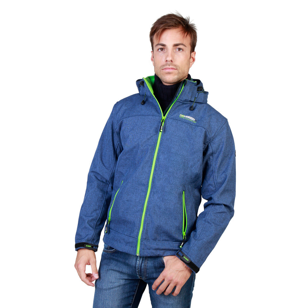 Geographical Norway Twixer_man_blue_green Jackets - Les Bleu Saphire