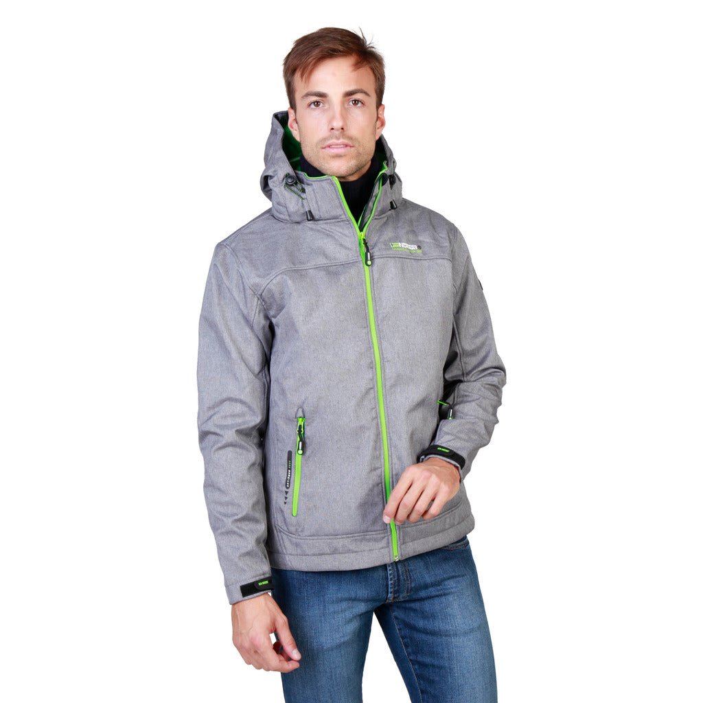 Geographical Norway Twixer_man_lgrey_green Jackets - Les Bleu Saphire