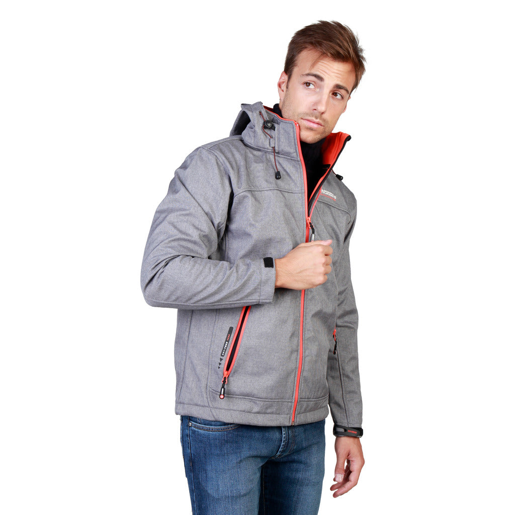 Geographical Norway Twixer_man_lgrey_orange Jackets - Les Bleu Saphire
