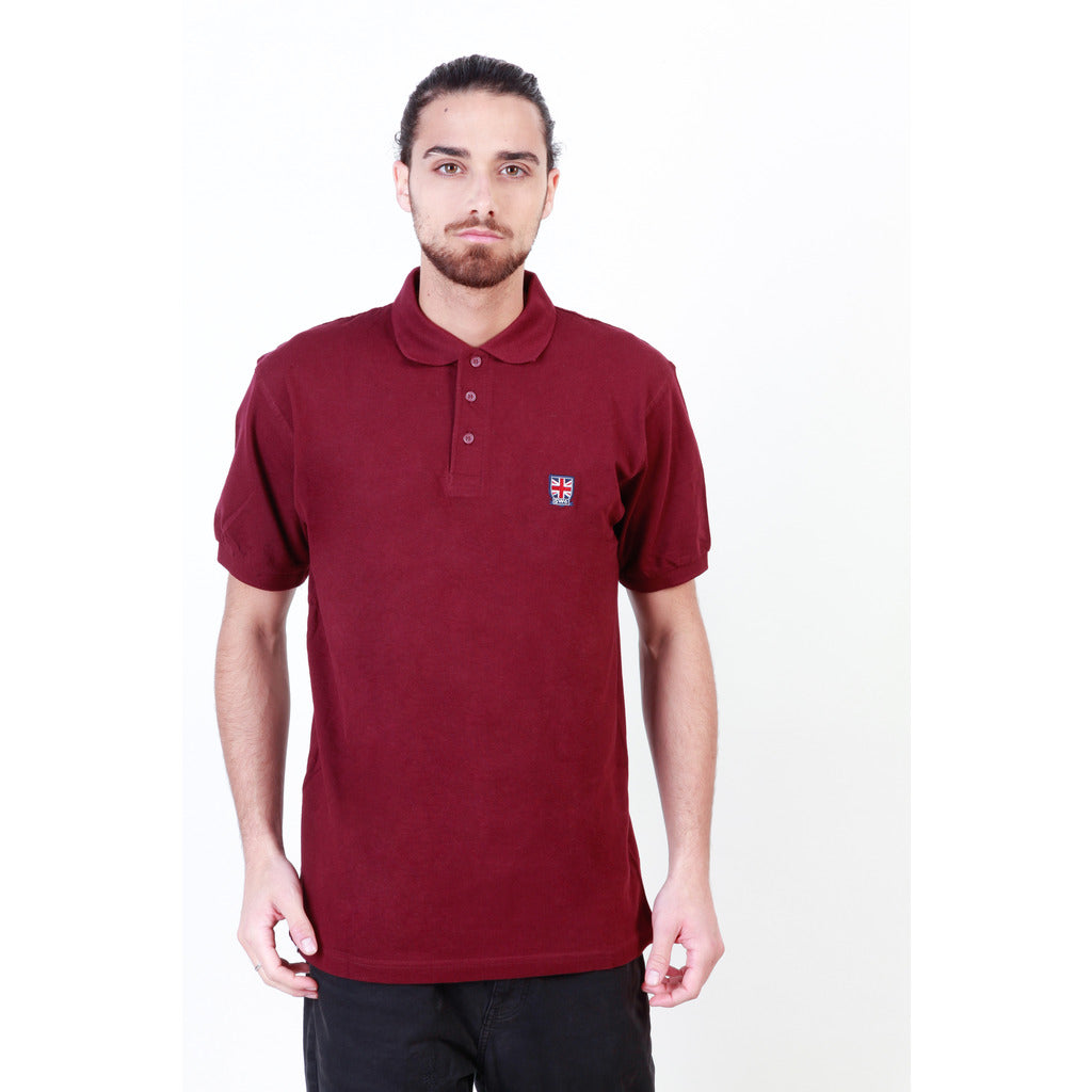 Putney Bridge PBMPT026_BURGUNDY Polo - Les Bleu Saphire