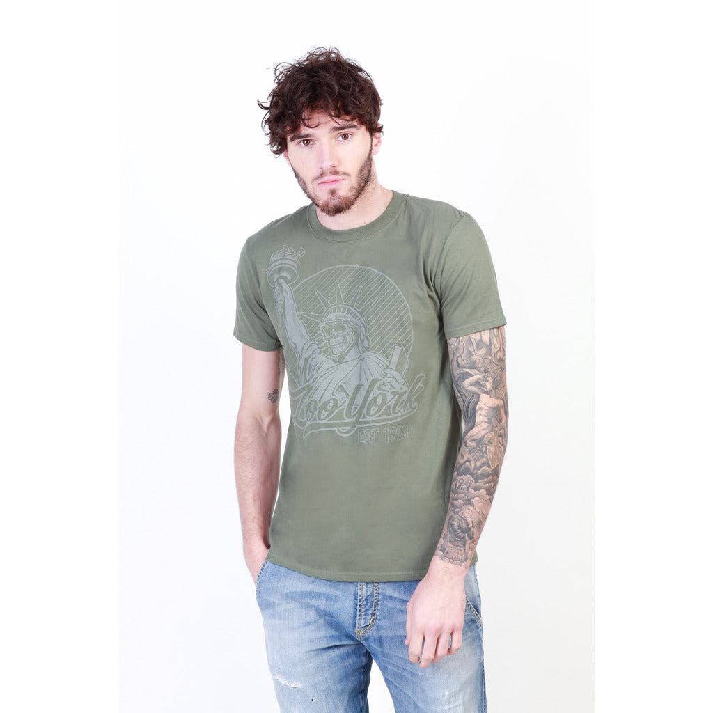 Zoo York ZZMTS132_MILITARY-GREEN T-shirts - Les Bleu Saphire