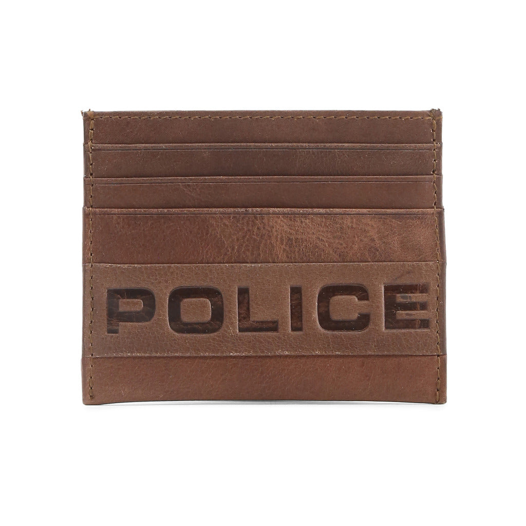 Police PT288257-2_brown Wallets - Les Bleu Saphire