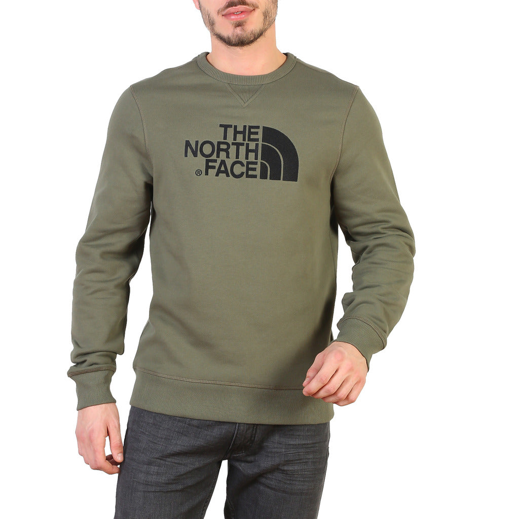 The North Face T92ZWR21L_DREW_PEAK-TAUPE Sweatshirts - Les Bleu Saphire