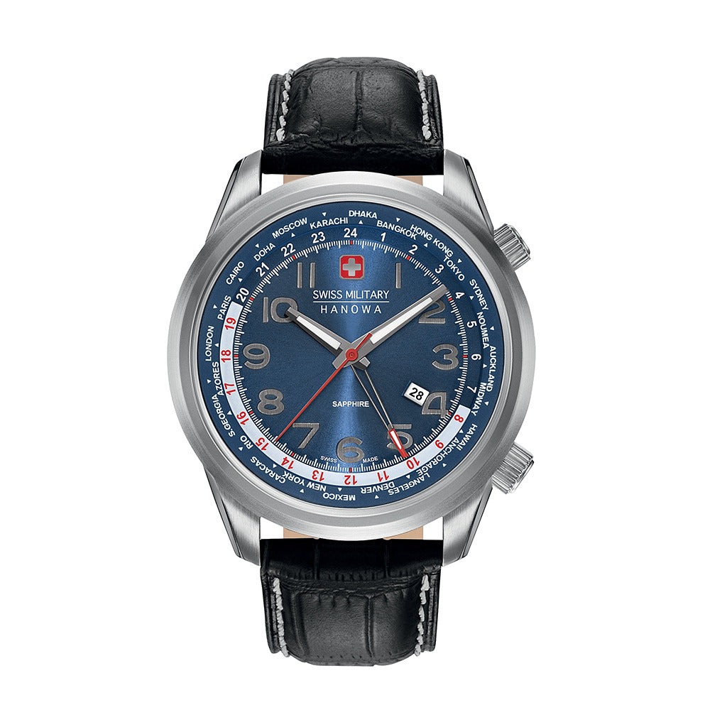 Swiss Military 06-4293_04_003 Watches - Les Bleu Saphire