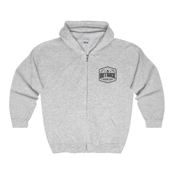 Outback Outdoor Gear Hooded Sweatshirt - Gray Small Logo