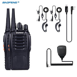 Camping 2X 888S 1X MIC 1XUSB Electronics, Emergency Gear, Survival, Two-way Radios Outback Outdoor Gear