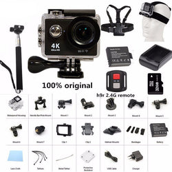 Camping H9 black / standard Action Cameras, Electronics Outback Outdoor Gear