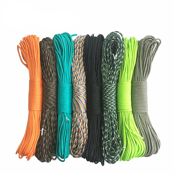 Camping Silver / 100FT Paracord Products, Ropes and Straps Outback Outdoor Gear