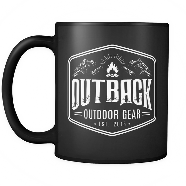Outback Outdoor Gear Mug 11oz - Black
