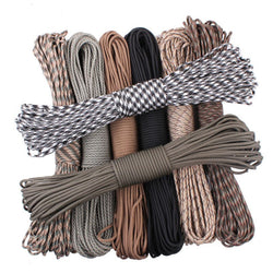 Survival 16 black / 100feet Paracord Products, Ropes and Straps Outback Outdoor Gear