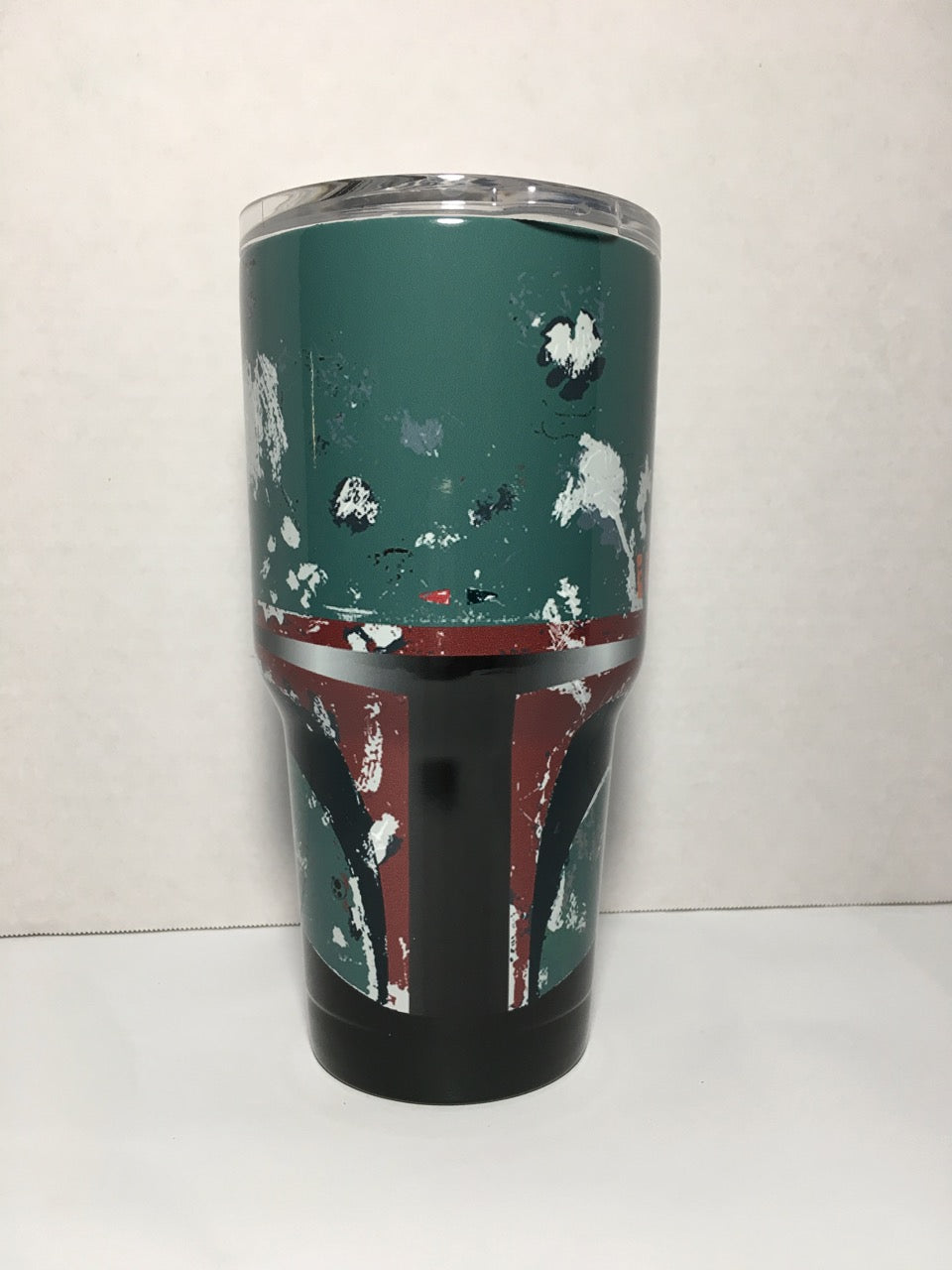Boba Fett Tumbler Personalized Tumbler Custom 30oz Be Seen Designs Tumbler Fully Wrap