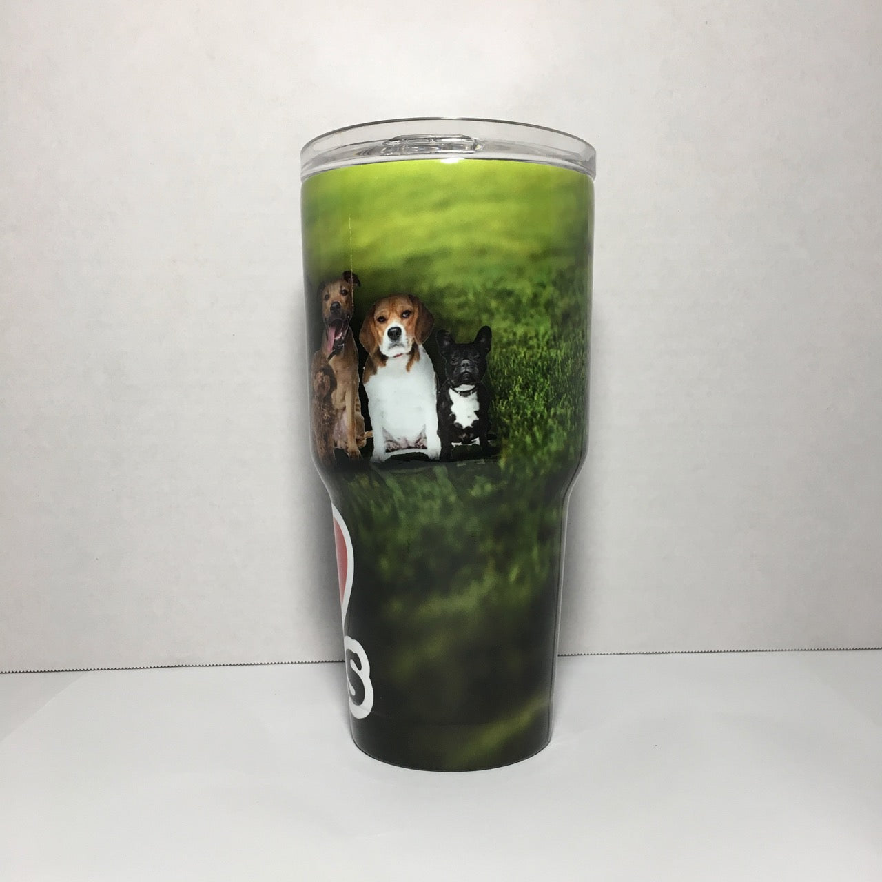 I Love Dogs Tumbler Personalized Tumbler, Custom 30oz Be Seen Designs Tumbler Fully Wrap