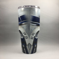 R2D2 Tumbler, Personalized Tumbler, Custom 30oz Be Seen Designs Tumbler Fully Wrap