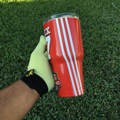 Soccer Uniform Tumbler, Personalized Tumbler, Custom 30oz Be Seen Designs Tumbler Fully Wrap
