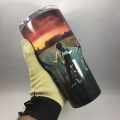 Stranger Things Tumbler, Personalized Tumbler, Custom 30oz Be Seen Designs Tumbler Fully Wrap