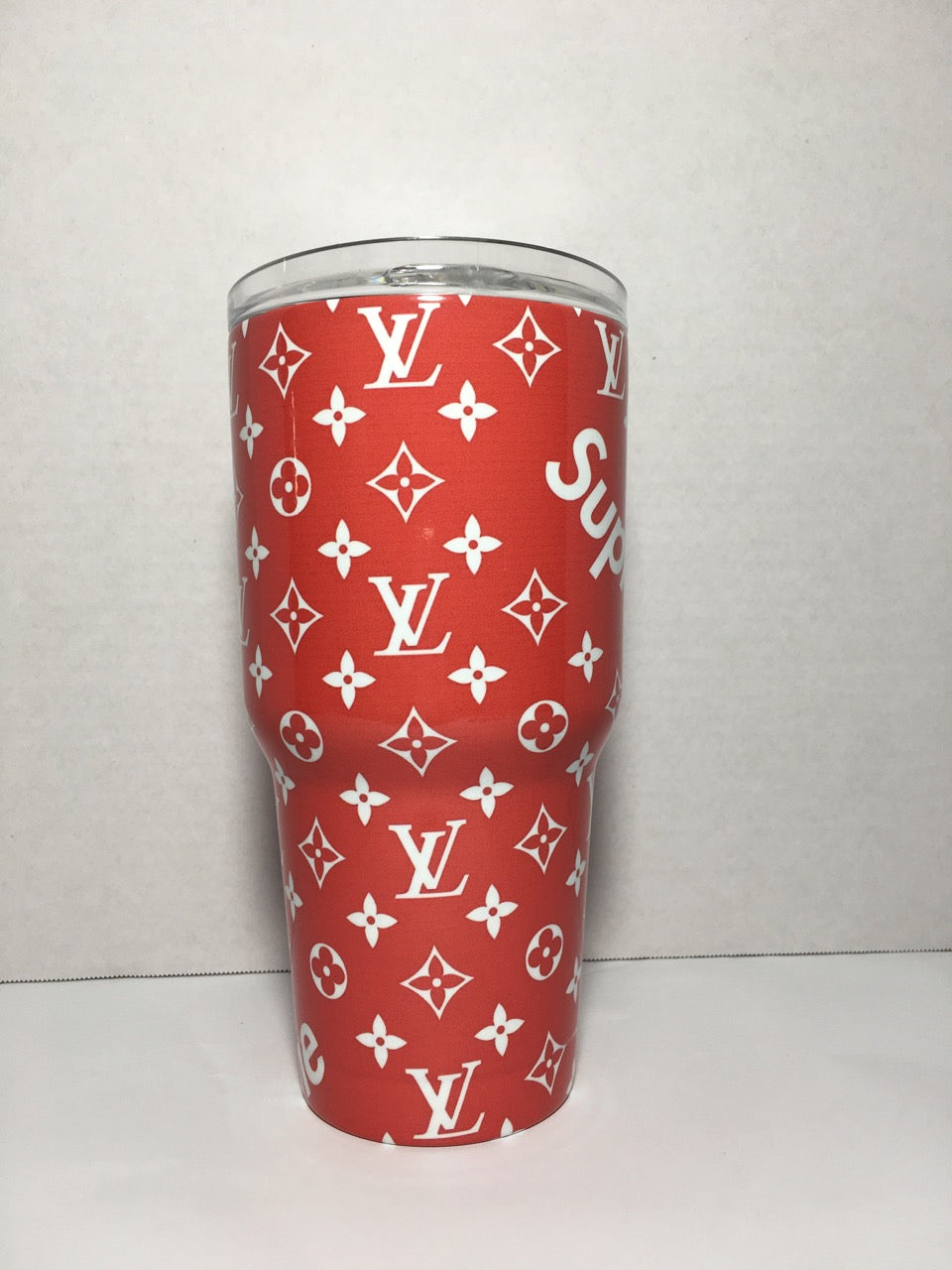 Louis Vuitton Supreme Tumbler Personalized Tumbler Custom 30oz Tumbler Fully Wrap
