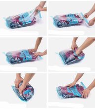 REUSABLE HAND-ROLLED VACUUM BAG