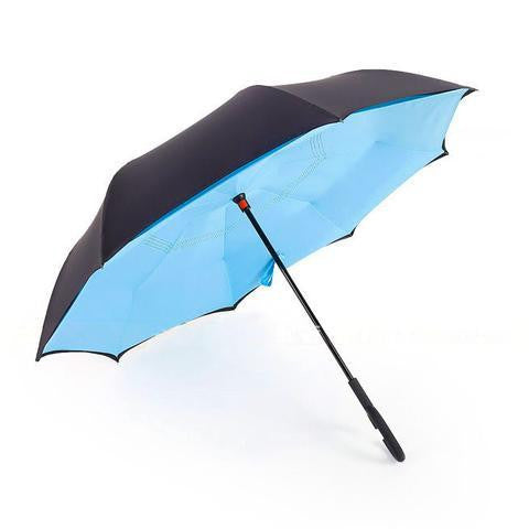 THE REVERSIBLE UMBRELLA