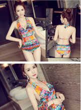 BIKINI SEXY LAPEL SWIMSUIT WOMEN