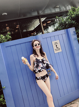 SPLIT SWIMSUIT FEMALE HAN SWIMSUIT SMALL CHEST COLLECTION