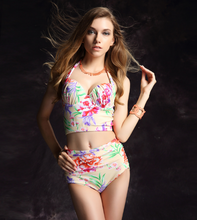 CUTE SPLIT SWIMSUIT TWO PIECE TRIANGULAR STYLE