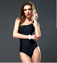 NEW SINGLE SHOULDER STRAP SWIMSUIT WOMAN