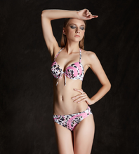 New bikini swimsuit female three sets