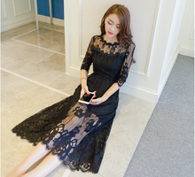 THE NEW KOREAN VERSION OF THE THIN LACE DRESS