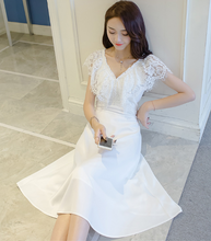 TEMPERAMENT SWEET LACE ELEGANT DRESS