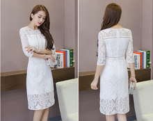 KOREAN FASHIONABLE WHITE BALES AND SKIRT DRESSES