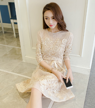 KOREAN VERSION OF THE MEAT WAS THIN PINK LACE SKIRT