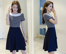 SMALL FRESH THIN DRESS KNIT DRESS