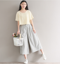 SHORT KNITTED SHORT-SLEEVED T-SHIRT COAT TIDE