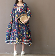FEMALE FIVE-POINT SLEEVELESS COTTON CLOTH BUTTERFLY SLEEVES DRESS