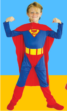 INVINCIBLE SUPERMAN CLOAK BELT