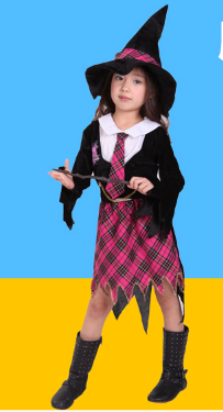 MAGICAL FEMALE STUDENT DRESS COAT WITH HAT