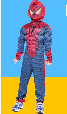 EXTRAORDINARY SPIDER-MAN ONE-PIECE DRESS AND JACKET