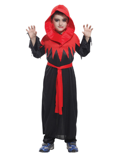 Copy of HALLOWEEN GOETHE BOY RED VAMPIRE DEVIL GARMENT