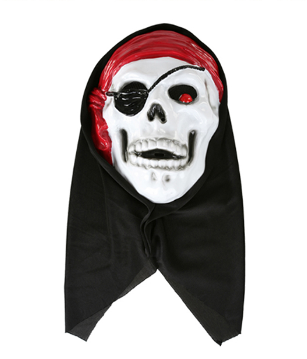 PARTY PARTY MASK HORROR SKELETON PIRATE