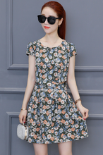 FLORAL DRESS IS SWEET