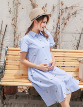 PREGNANT WOMEN WEAR SUMMER COTTON PREGNANT WOMEN DRESS