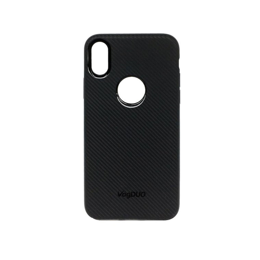 Shell Series Case for iPhone X [Black Carbon Fiber]