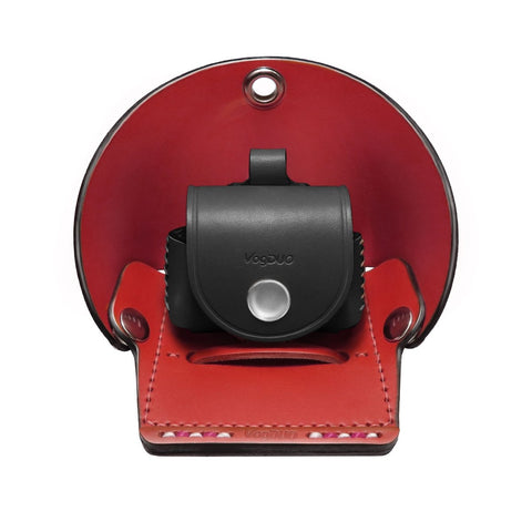 Premium Leather Bundle- Stand in RED