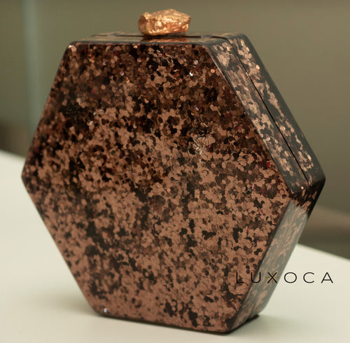 Sidra Hexagonal Clutch