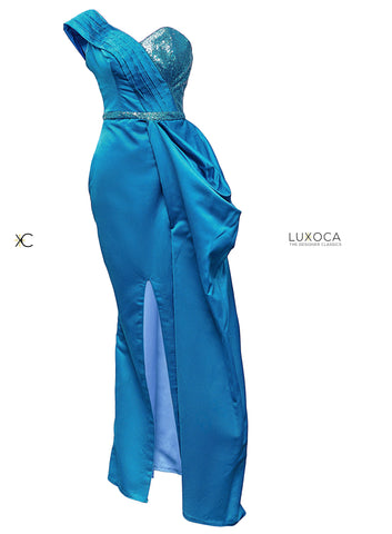 House Of Damaris Blue Dress