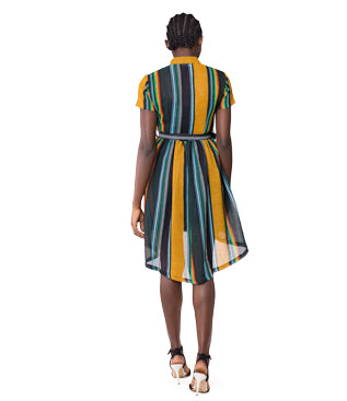 Jamaican Beauty Colorful Dress