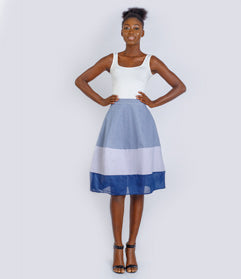 The Blue Princess Skirt