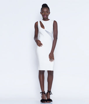 Charmaine White Dress